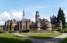 Walt Disney do século 18 mandou fazer castelo com referências ao Romantismo (Foto: Reprodução)