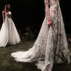 """runwayandbeauty: """" Paolo Sebastian Wild Flowers 2017 Spring/Summer Couture Collection. """""""