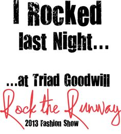 The men's #GoodwillRTR T is our favorite though! What do you think?! www.GoodwillRocktheRunway.org