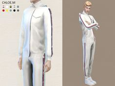 The Sims Resource: Sports Hoodie and shorts by ChloeMMM • Sims 4 Downloads