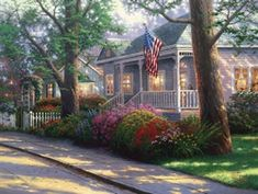 Thomas+Kinkade+Dies+-+Painter+of+Light