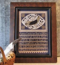New design from Kathy Barrick - Anna's Bird.  Available on Etsy!