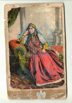 """Azerbaijani woman Eyyubzade Firuze Mashadi Mehdi gizi was born in Sheki in 1882 in the noble family ,her father  engaged in the trade of jewelry, known under the pseudonym """"Golden Mehdi.""""After marrying İlyas beck, she moved to Ganja.She had her own store in Pyatigorsk,where in 1912 this photo was taken .It should be noted,that the original of this photo is protected by the Documentary Sources Fund of the National Museum of Azerbaijan."""