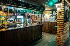 Rock 'N' Roll PUB - The weekend never ends here. Bar Interior Design, Exterior Design, Interior And Exterior, Irish Pub Interior, Man Cave, Beer, Future, Shop, House