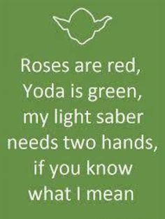 *Wink Wink* star wars humor. get's me every time! @Taylore Lawson you need to read this! @Angelina Vinson