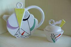 Außergewöhnliche Cafe-Kanne und Zuckerdose SIC Ceramiche Decorato  A. Mano   eBay Mugs, Tableware, Ebay, Dinnerware, Tumblers, Tablewares, Mug, Dishes, Place Settings
