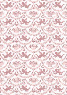 Wings of Whimsy: Cherub Paper Salmon - free for personal use #walter #crane #printable #ephemera