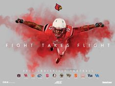 One of the best yet! The 2015 @GoCards @UofLFootball poster is FANTASTIC! RETWEET this if you agree with us!