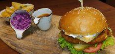 Ții post sau ești vegan ? Încearcă Veggie Burger și convinge-te de gust ! Veggies, Restaurant, Vegan, Chicken, Ethnic Recipes, Food, Salads, Vegetable Recipes, Vegetables