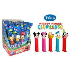Pez Mickey Mouse Club House - Assorted