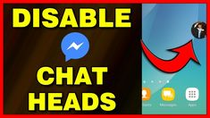 How to disable Chat Heads on Facebook Messenger app (Android) - 2019 Android Tutorials, Video Tutorials, Facebook Messenger, Disability, Android Apps, Ipad, Messages, Iphone