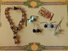 ANTIQUE FRENCH FASHION DOLL JEWELRY. Now available from: kimsdollgems2