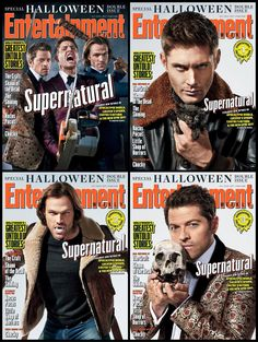 Supernatural Halloween Special Entertainment Weekly Magazine Covers