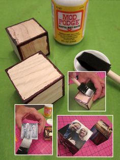 Wood blocks craft this tutorial shows you how you can make so many do it yourself holiday photo gifts make a big impression techhive solutioingenieria Choice Image