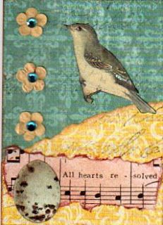 A Spring ATC Swap; created by Teri Soliday Patty, 2012.