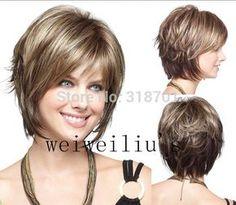Imagem relacionada Medium Hair Cuts, Short Hair Cuts, Medium Hair Styles, Short Hair Styles, Pixie Hairstyles, Cute Hairstyles, Short Pixie, New Hair, Hair Beauty