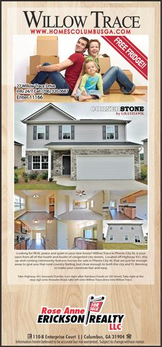 New Construction Homes in Willow Trace by Grayhawk Homes Inc