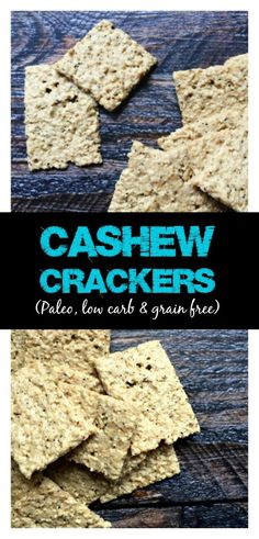 These crackers are super tasty and healthy to boot. A grain free, Paleo and low carb snack that is easy to make and hard to resist.