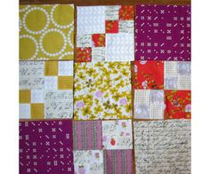 Penny quilt along for beginners
