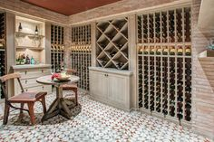 wine cellar   wine room 19 High Water Newport Coast CA | Meridith Baer Home | Home Staging