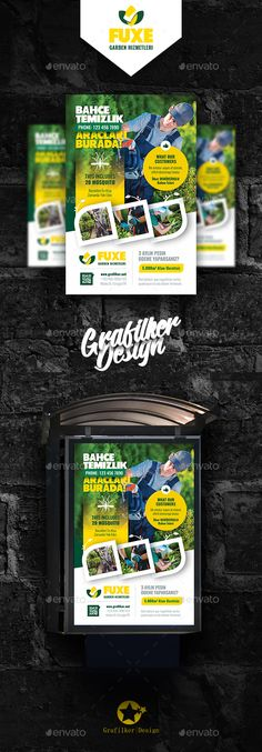 Garden Landscape Poster Templates by grafilker Garden Landscape Poster Templates Fully layeredINDDFully layeredPSD300 Dpi, CMYKIDML format openIndesign CS4 or laterCompletely ed