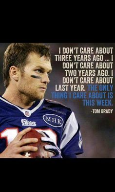 And this week was amazing. Brady for the win:)))) we will get to the Bowl and we will dominate