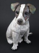 … also nice in clay: Jack Russell by Ronnie Gould