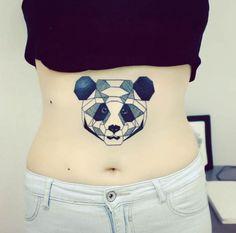 Panda Tattoo by Anna Yershova