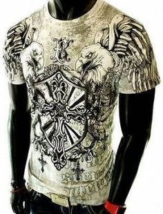 Ideas tattoo sleeve heren lion for 2019 Mma Shirts, Cool Shirts, Shirt Print Design, Shirt Designs, King T, Affliction Clothing, Affliction Men, Independent Clothing, Screen Printing Shirts