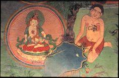 Tibet: Lhukang Temple, Lhasa (Yoga Murals) Himalayan Art: Item No. 81696