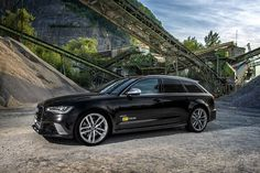 670-hp Audi RS6 by OCT Tuning 3,2 sek to 100 ... thats one fast Audi