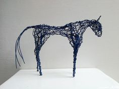 Buy The Blue Horse, Sculpture by Linda Hoyle on Artfinder. Discover thousands of other original paintings, prints, sculptures and photography from independent artists.