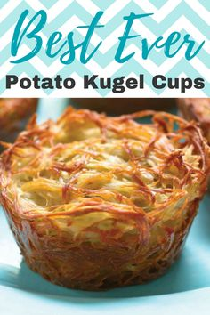 Make individual kugel cups so that everyone can get a taste of the crispy edges!