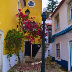 Beautiful Cascais in the region of Sintra in Portugal