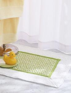 Checkerboard Placemats | Yarn | Free Knitting Patterns | Crochet Patterns | Yarnspirations