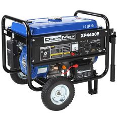 The DuroMax XP4400E Gas Powered Portable Generator is just one of DuroMax's finest generators. On Amazon.com, the XP4400E has received 4.1 from 5 superstars from over 468 customer testimonials, a lot of which speak very about the generator's strong efficiency as well as effective engine taking... Read more .. http://hmppr.com/d/review-duromax-xp4400e-gas-powered-portable-generator-with-wheel-kit/