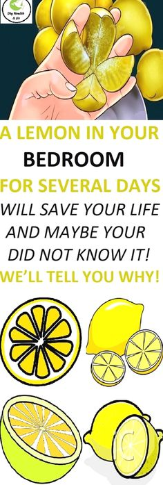 A Lemon In Your Bedroom For Several Days Will Save Your Life and Maybe You Did Not Know It! We'll Tell You Why! Astounding