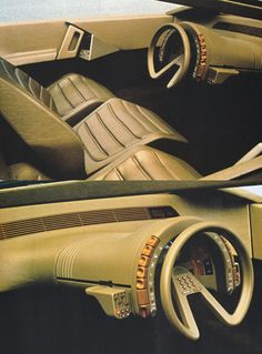 Citroen Karin, 1980 concept car vintage retro