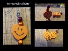 boucles d'oreilles enfant COEUR MARMELADE bijoux enfants (photo 1)