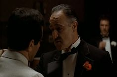 """""""I'm gonna make him an offer he can't refuse"""". The Godfather."""