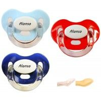 Chupetes Personalizados CHUPETITOS Blues&Red