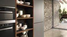 Cocina integral con puertas lacadas FORMA MENTIS - PUERTA LACADA by VALCUCINE
