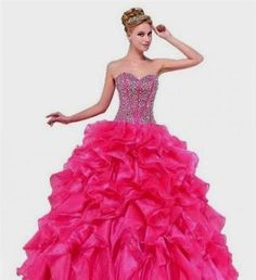Cool pink puffy quinceanera dresses 2017 Check more at http://myclothestrend.com/dresses-review/pink-puffy-quinceanera-dresses-2017/