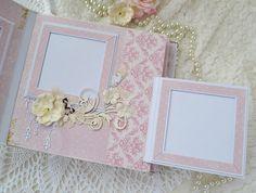 Foto Scrapbook Bebe, Baby Girl Scrapbook, Vintage Scrapbook, Mini Scrapbook Albums, Diy Crafts For Girls, Diy And Crafts, Paper Crafts, Mini Photo Albums, Mini Albums Scrap