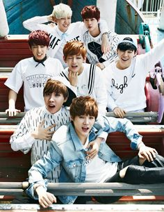 Bts in Ize Magazine May issue
