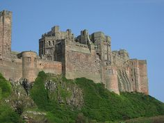 Bamburgh Castle in #England