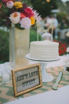 white wedding cake http://www.weddingchicks.com/2013/09/16/malibu-beach-wedding/