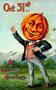 Magic Moonlight Free Images: Vintage Halloween Postcards!