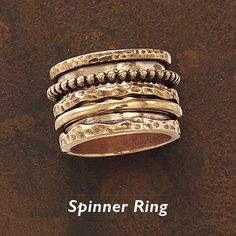 Antiqued Bronze Multi-Spinner Band Ring - Horse Themed Gifts, Clothing, Jewelry & Accessories all for Horse Lovers ...http://www.backinthesaddle.com/itemdy00.asp?T1=J31514%206=igodigital=ProductB#