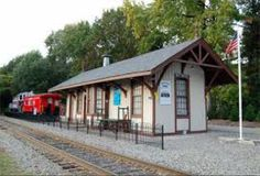 Maywood Station Museum - Maywood, NJ. Back in the '60s, there was still passenger service on this rail line.